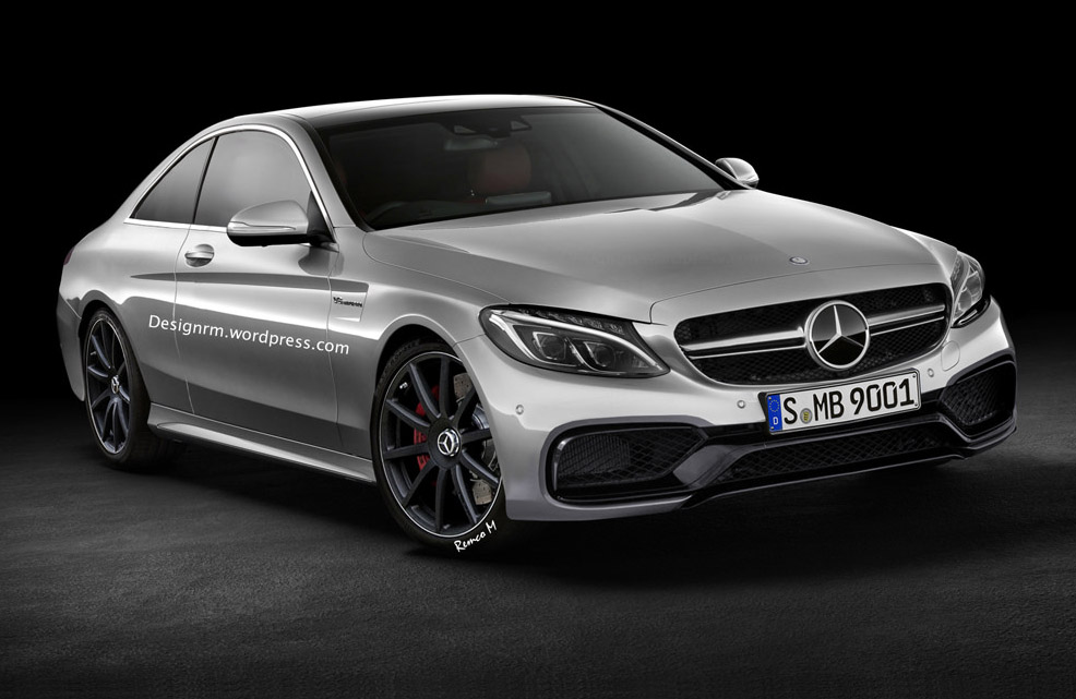 Mercedes-AMG C 63 Coupe Bound For Frankfurt Debut: Report