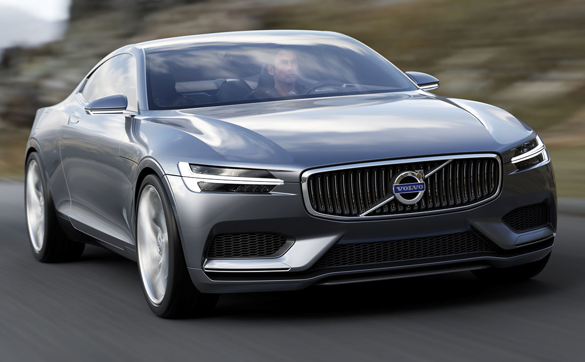 Volvo Halts Development Of Large Coupe: Report