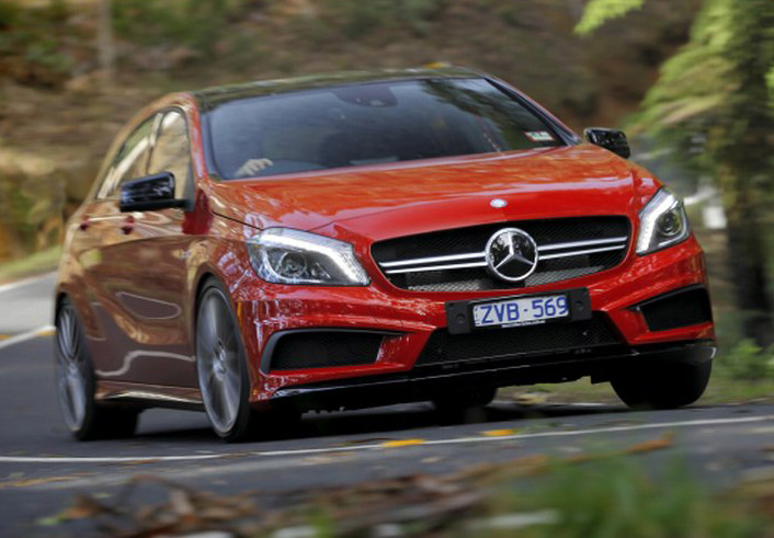 AMG's A45 Will Be 'The Most Powerful Again' With Coming Update: Report