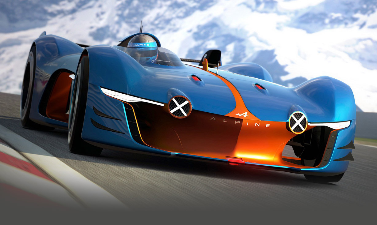 Renault Reveals Alpine Racer For Vision GT Gaming Series