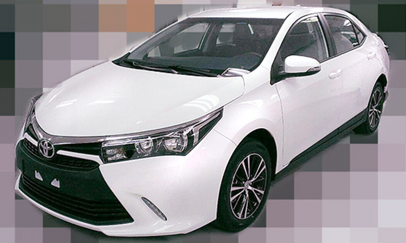 Is This Toyota's Refreshed Corolla Sedan?