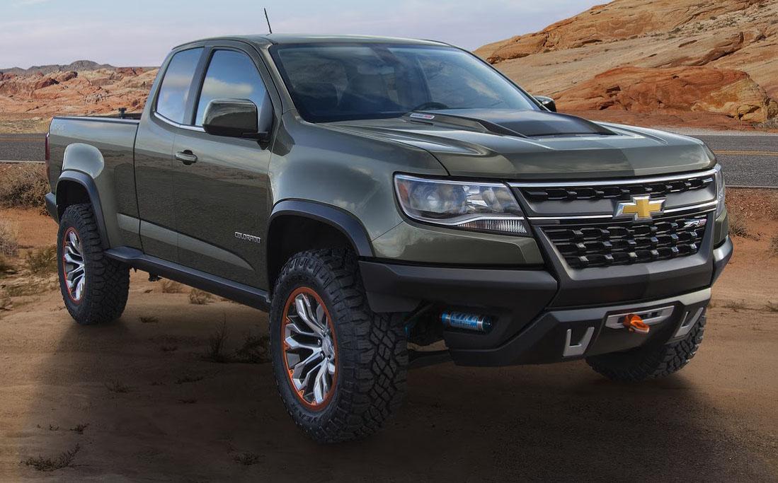 Chevrolet Colorado ZR2 Concept: America's 500Nm Diesel Special