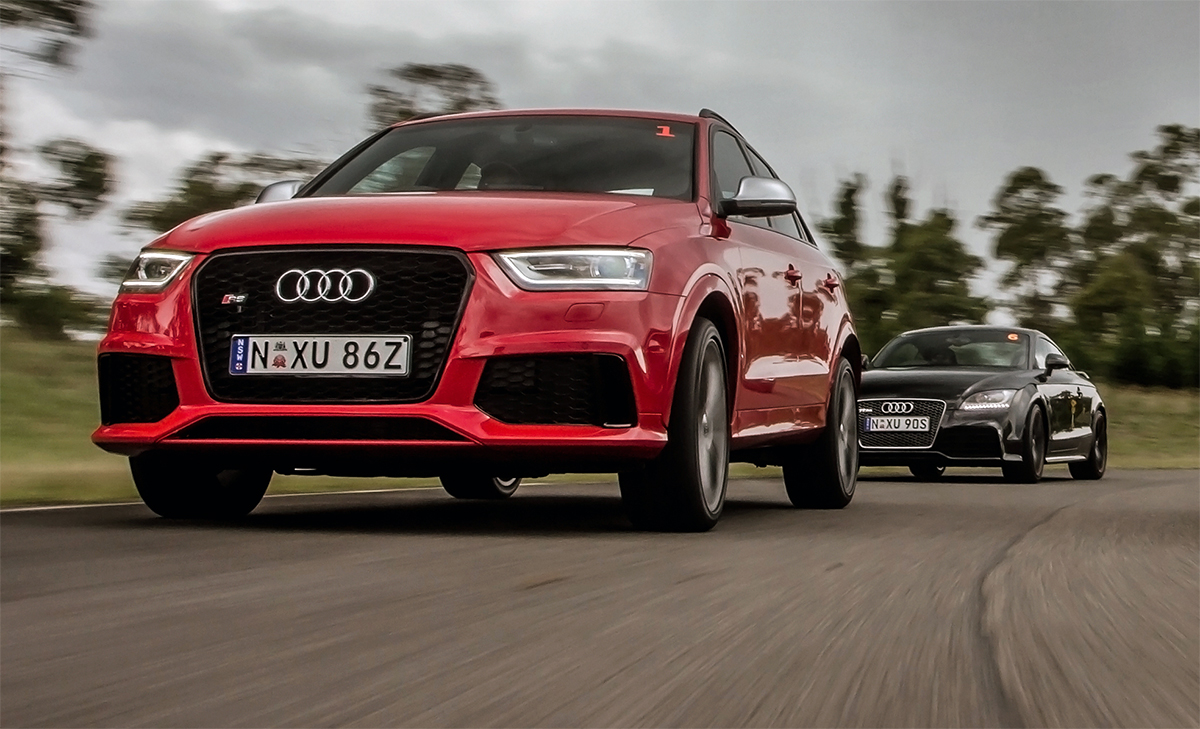 Audi RSQ3 Road and Track Test