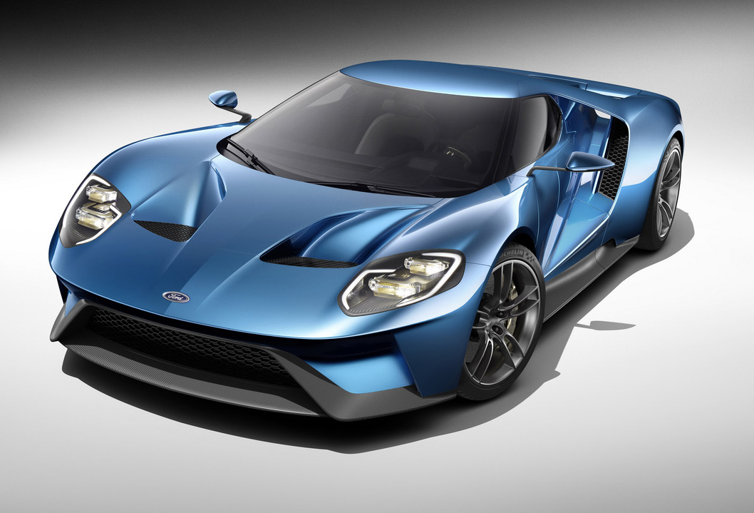 2016 Ford GT Supercar Revealed In Detroit, Turbo Six On-Board