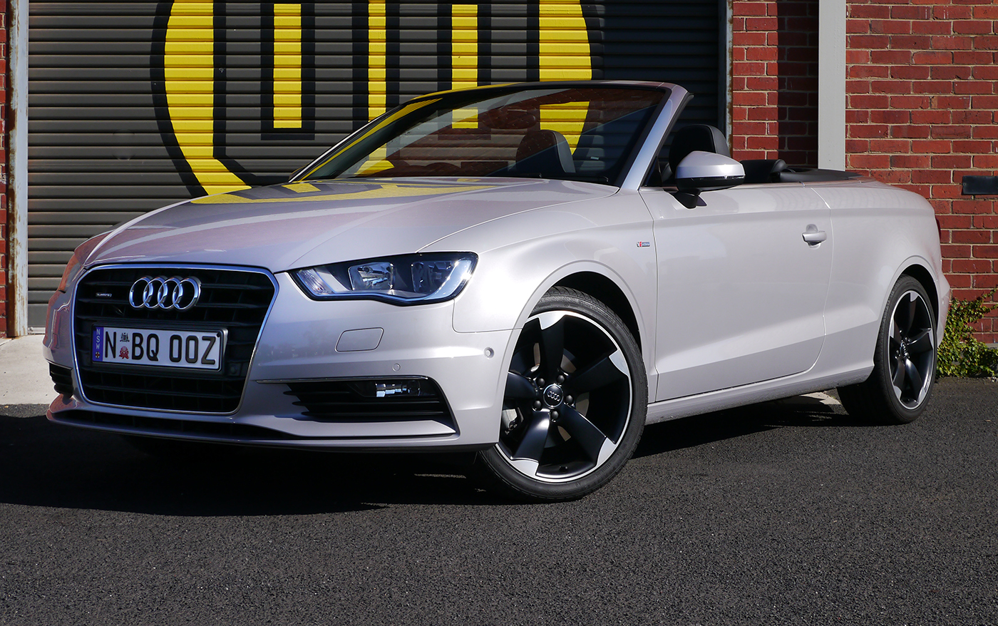 2015 Audi A3 Cabriolet Review: Ambition 1.8 TFSI - Droptop With Quattro Grip