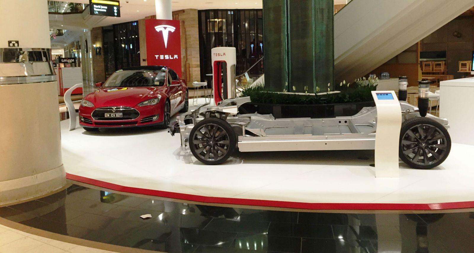 Tesla Australia Opens First Melbourne Store