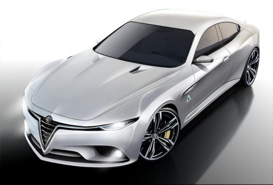 Alfa Romeo RWD Sedan To Get 357kW Turbo V6: Report