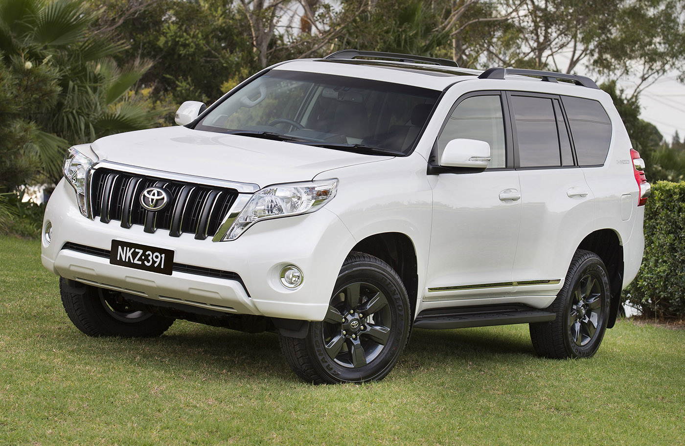 Toyota Prado Altitude: Special 'City SUV' Returns For 2015