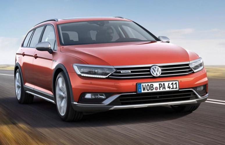 Volkswagen Passat Alltrack: New High-rider Revealed