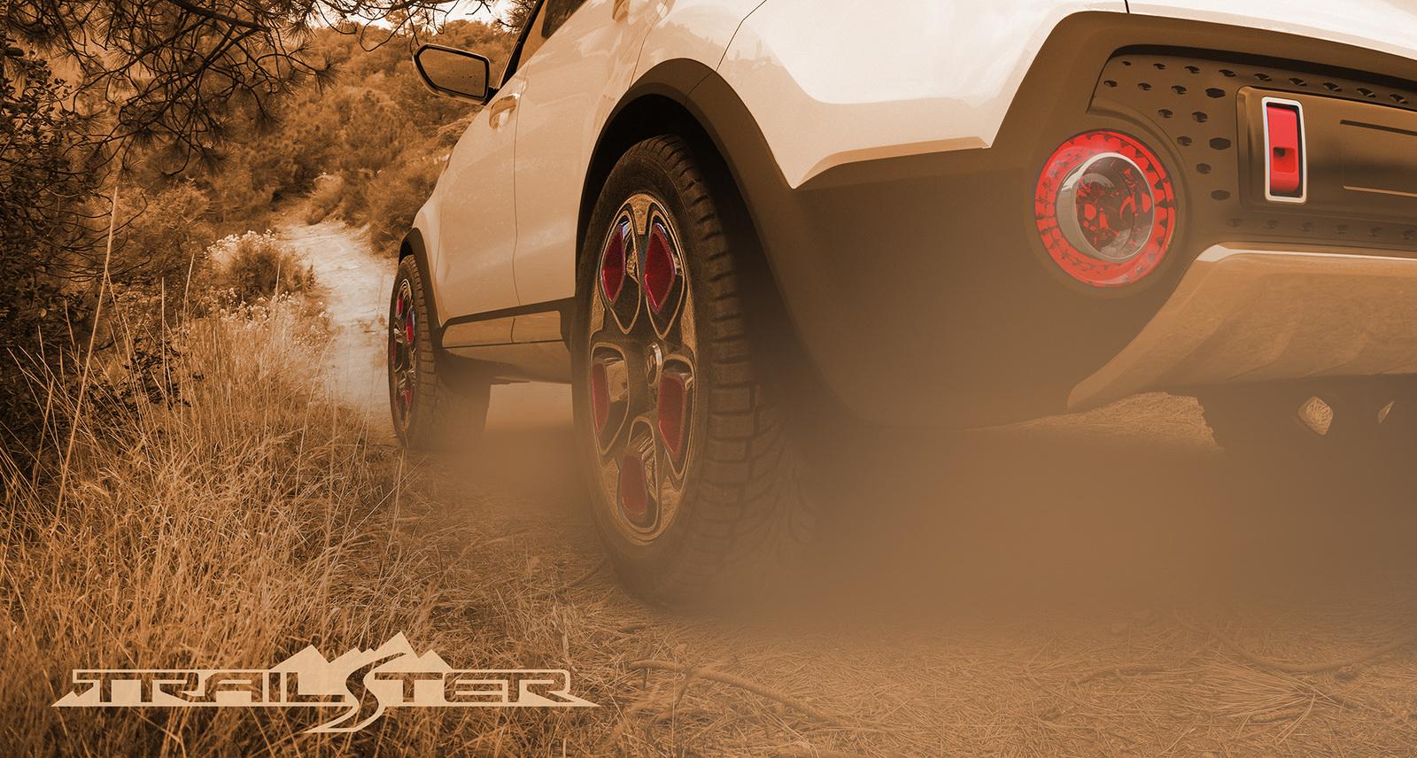 Kia Trail'ster e-AWD Concept Teased