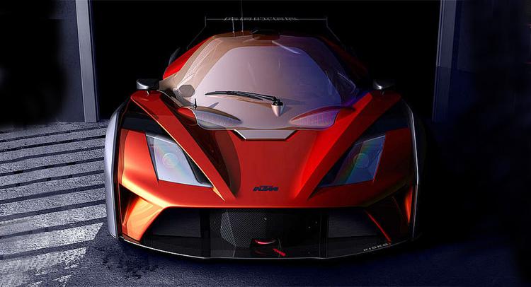 KTM X-Bow GT4 Teased