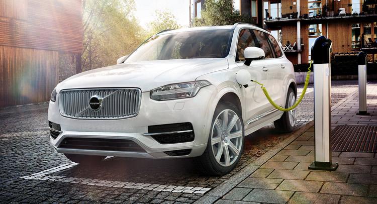 Volvo Details XC90 T8 Plug-In Hybrid