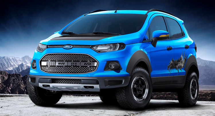Ford Unveils Trio Of EcoSport Concepts At Sao Paulo