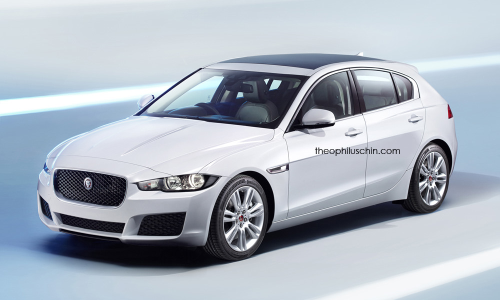 "Jaguar ""XD""  Hatchback Rendered"