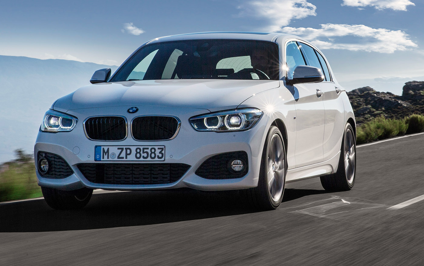 2015 BMW 1 Series Hatch Revealed: Facelift And Engine Updates On-Board