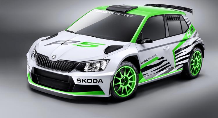 Skoda Fabia R 5 Rally Concept Revealed At Essen Motor Show