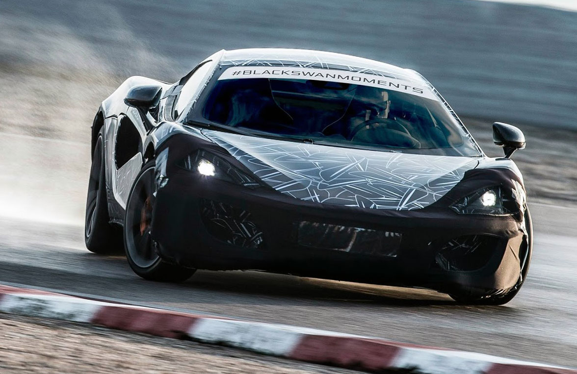 McLaren Sports Series Tears Up Tarmac In New Teaser Shot