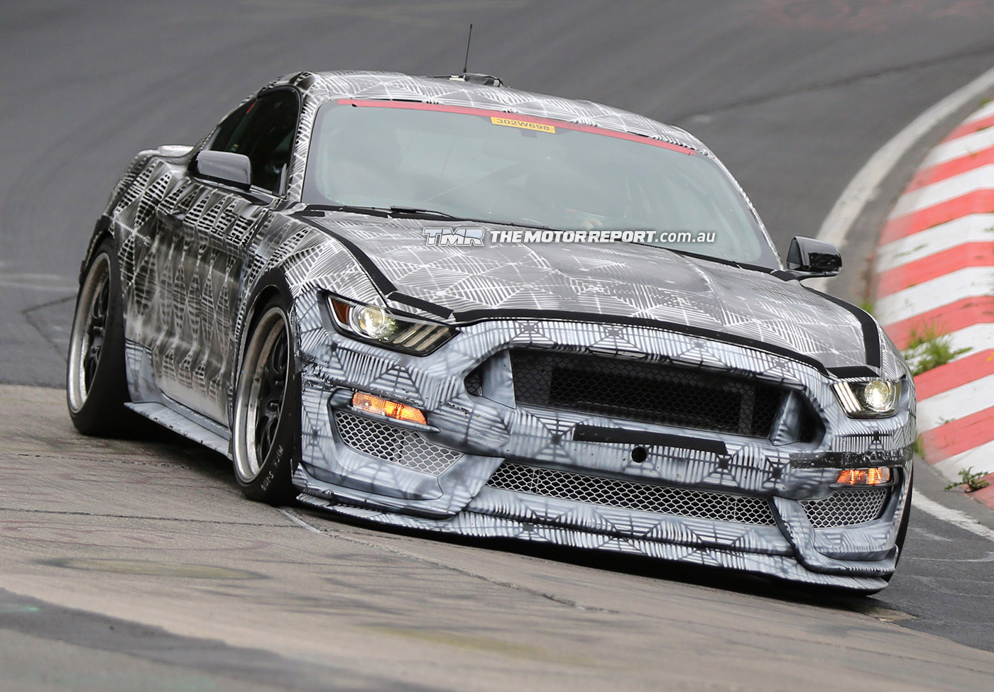 Ford Mustang SVT Spied Testing, Previews Shelby GT500 Replacement