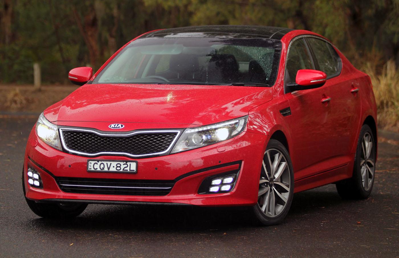 2014 Kia Optima Review: 'Platinum' Petrol Auto