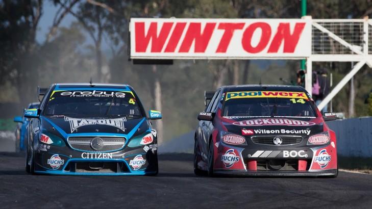 2014 V8  Supercars Winton Round - Erebus Motorsport Mercedes-Benz