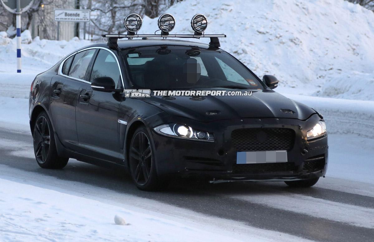 2015 Jaguar 'XS' Spied Testing