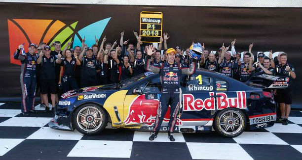 V8 Supercars: Whincup Wins Fifth Championship In Six Years