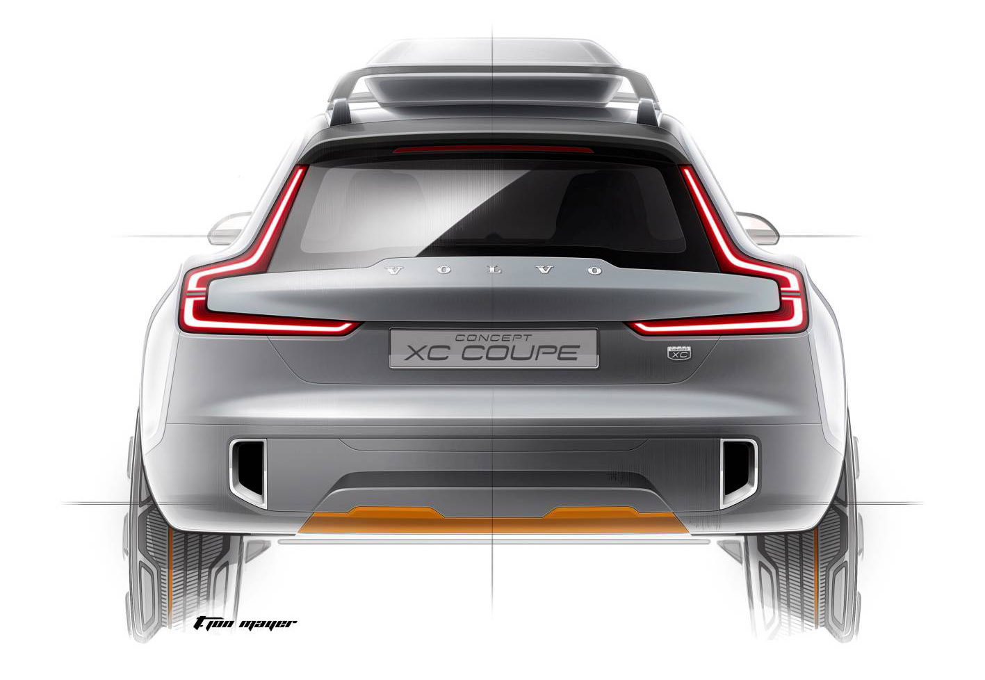 Volvo XC Coupe Concept Teased, Previews New SUV Styling