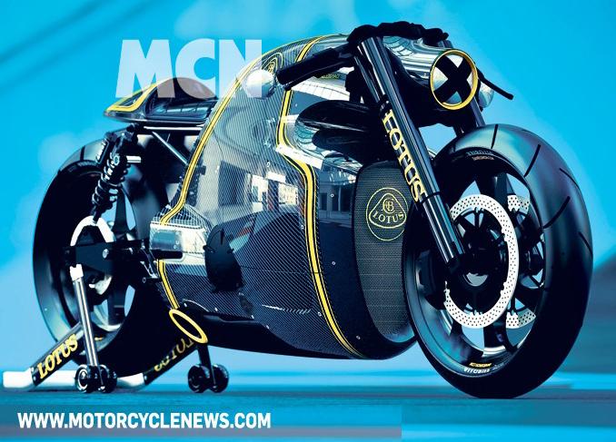 Lotus C-01 Motorbike Surfaces Online