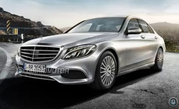 2014 Mercedes-Benz C-Class Revealed As New Images Surface Online