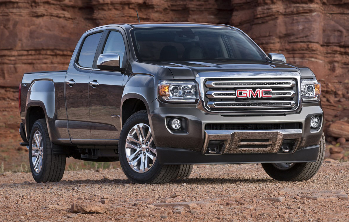 GMC Canyon Is The All-American Colorado