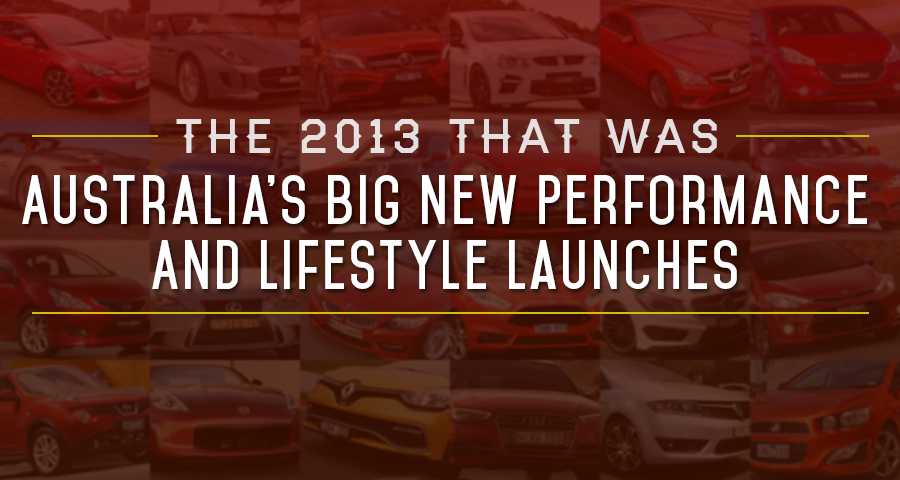 The 2013 That Was: Australia's Big New Performance And Lifestyle Launches