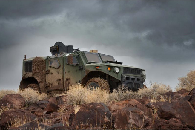2014 US Army TARDEC Ultra Light Vehicle Prototype