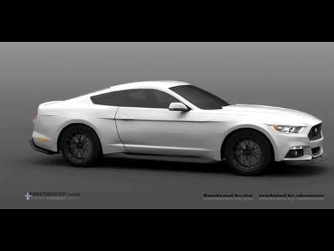 Ford Mustang Rendered: Video