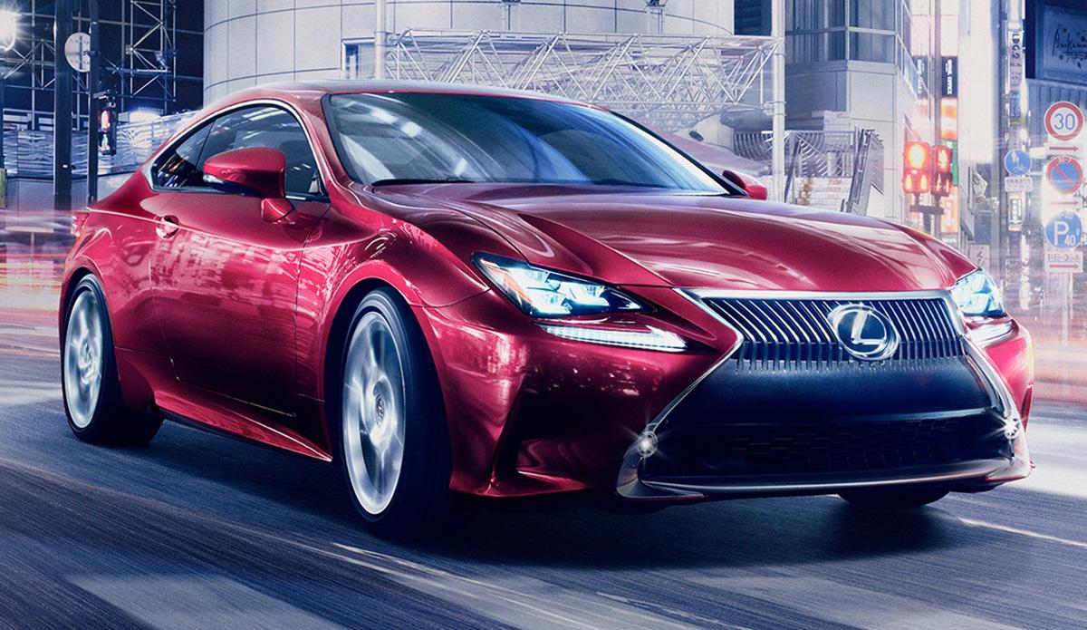 2014 Lexus RC Coupe Revealed