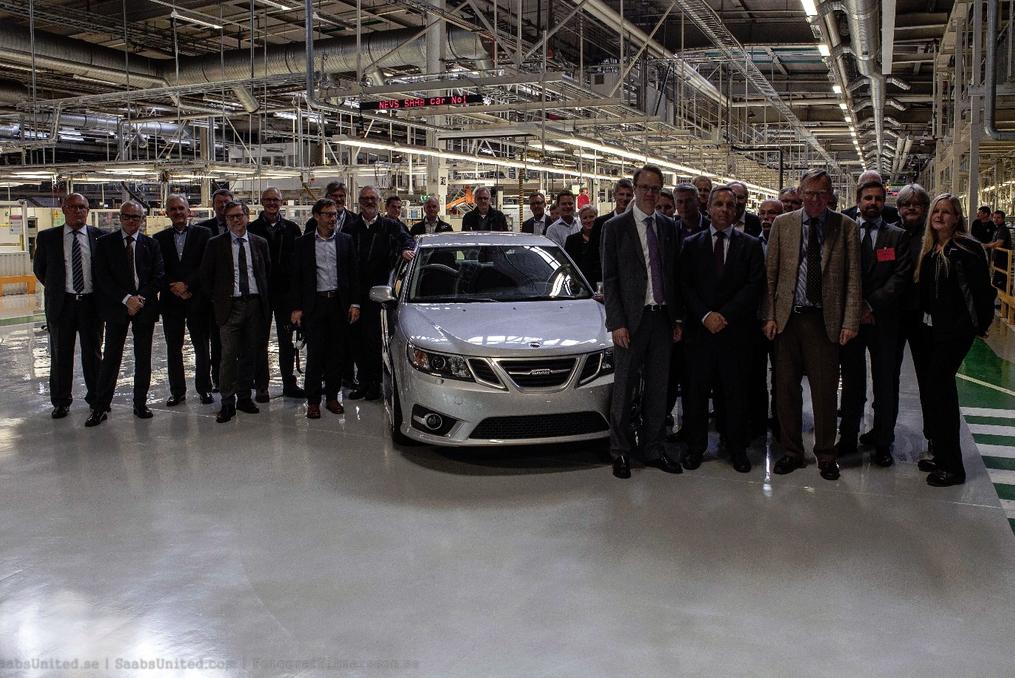 Saab Builds First 'Pre-Production' 9-3 Sedan Ahead Of Full Restart