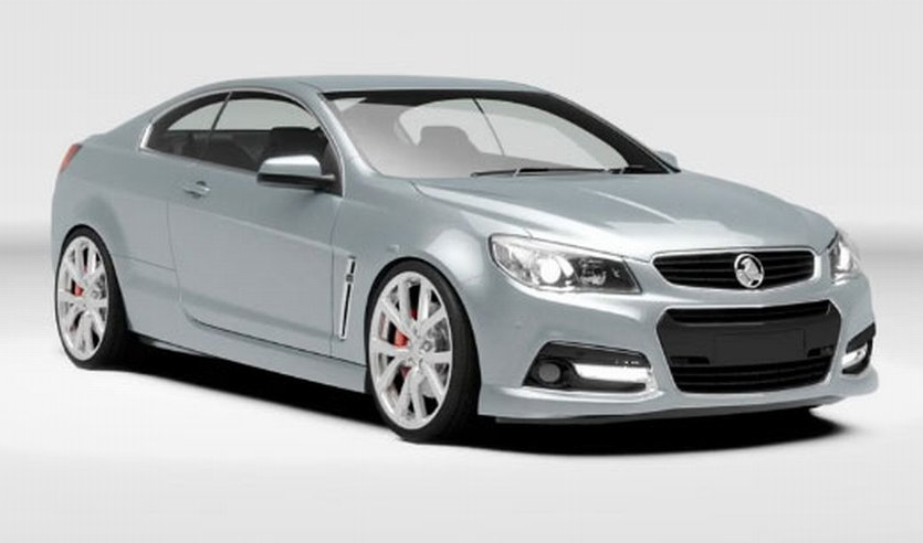 New Holden VF Monaro Concept Surfaces, Production Unlikely