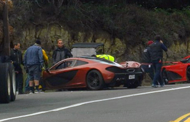 McLaren P1 Spied On Set Of Need For Speed Film Adaptation