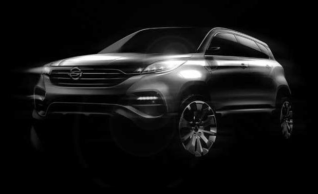 2013 SsangYong LIV-1 SUV - Concept