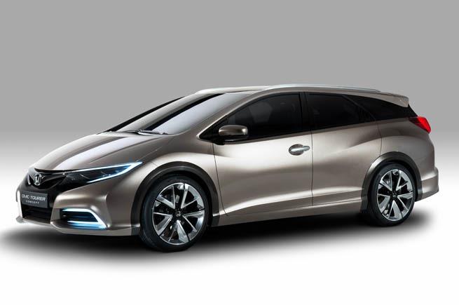 2014 Honda Civic Tourer Wagon Concept - Leaked