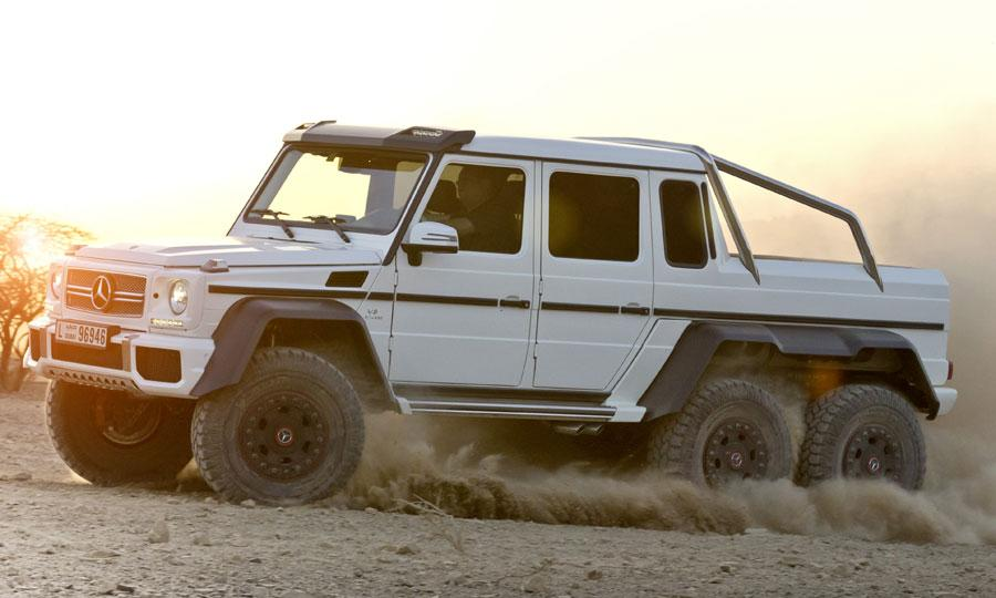 Mercedes-Benz Reveals Desert-storming G 63 AMG 6x6: Video