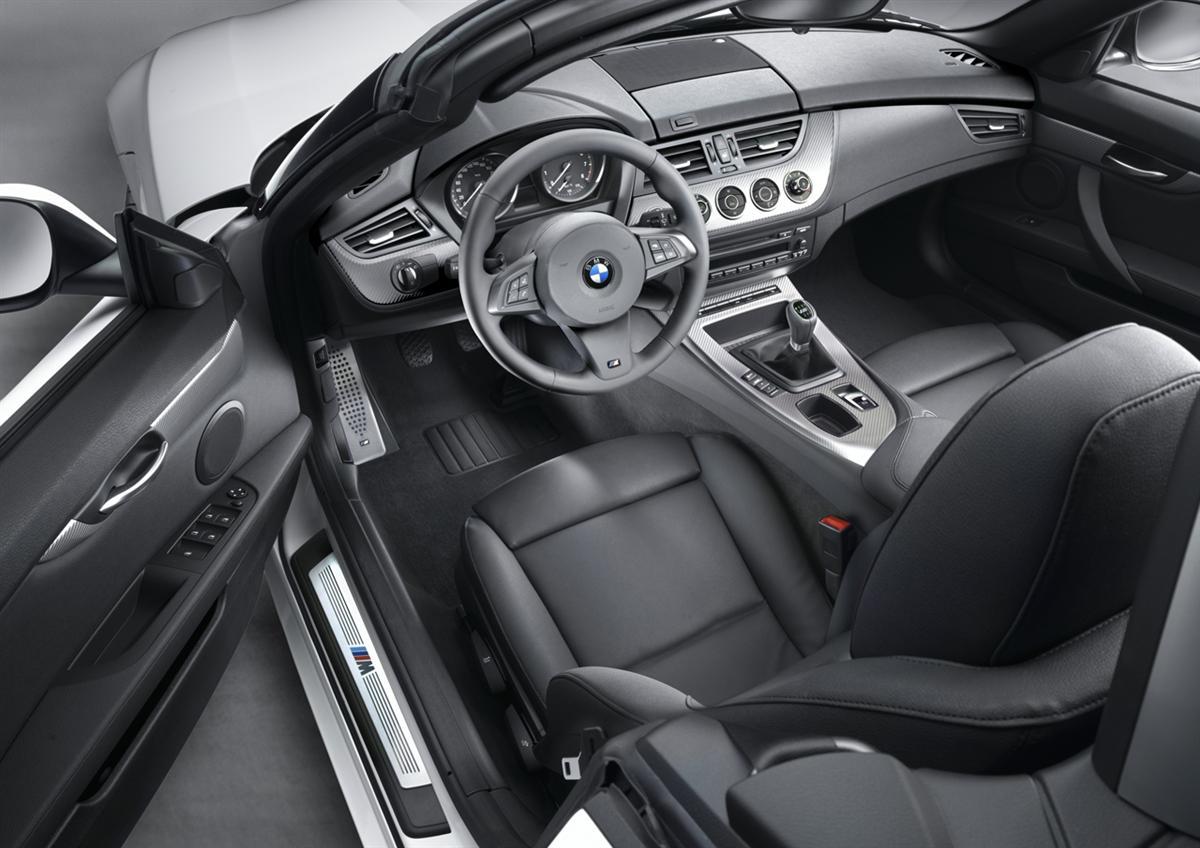 BMW Z4 M Sport package, Cockpit (11/2009)