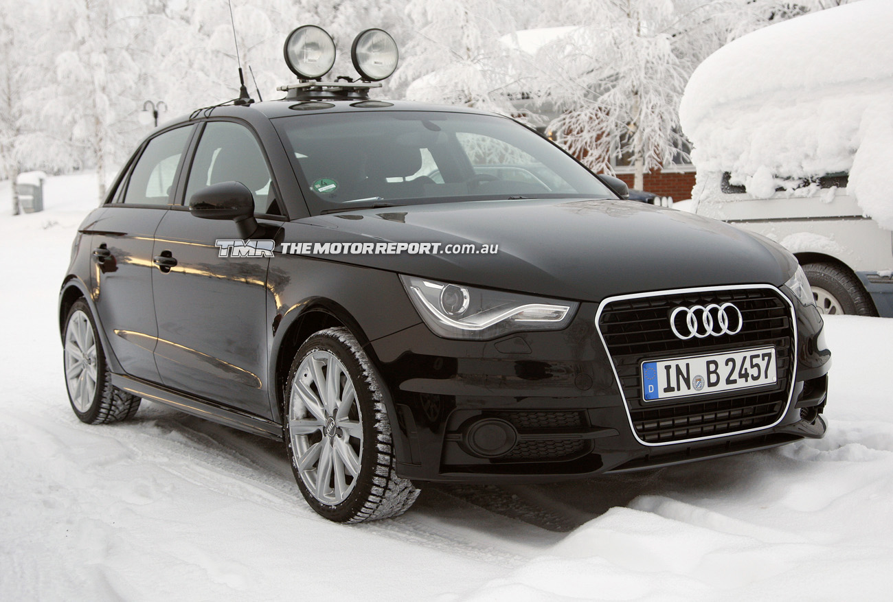 Spy Photos: Is This Audi's S1 Hot Hatch?