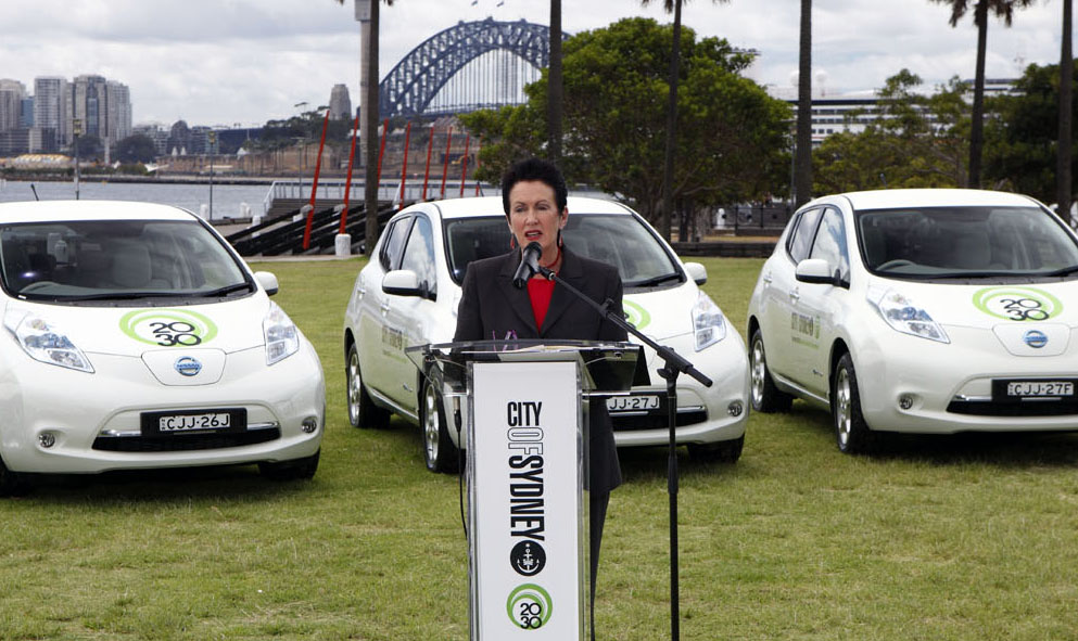 Ten Leaf Clover: Sydney Lord Mayor Bolsters Green Cred With Nissan EVs