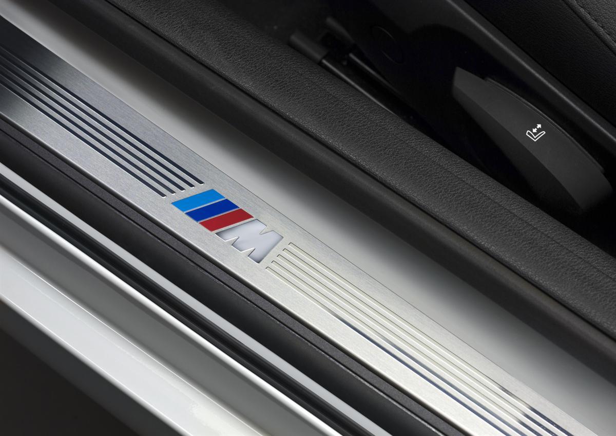 BMW Z4 M Sport package, door sill protector (11/2009)