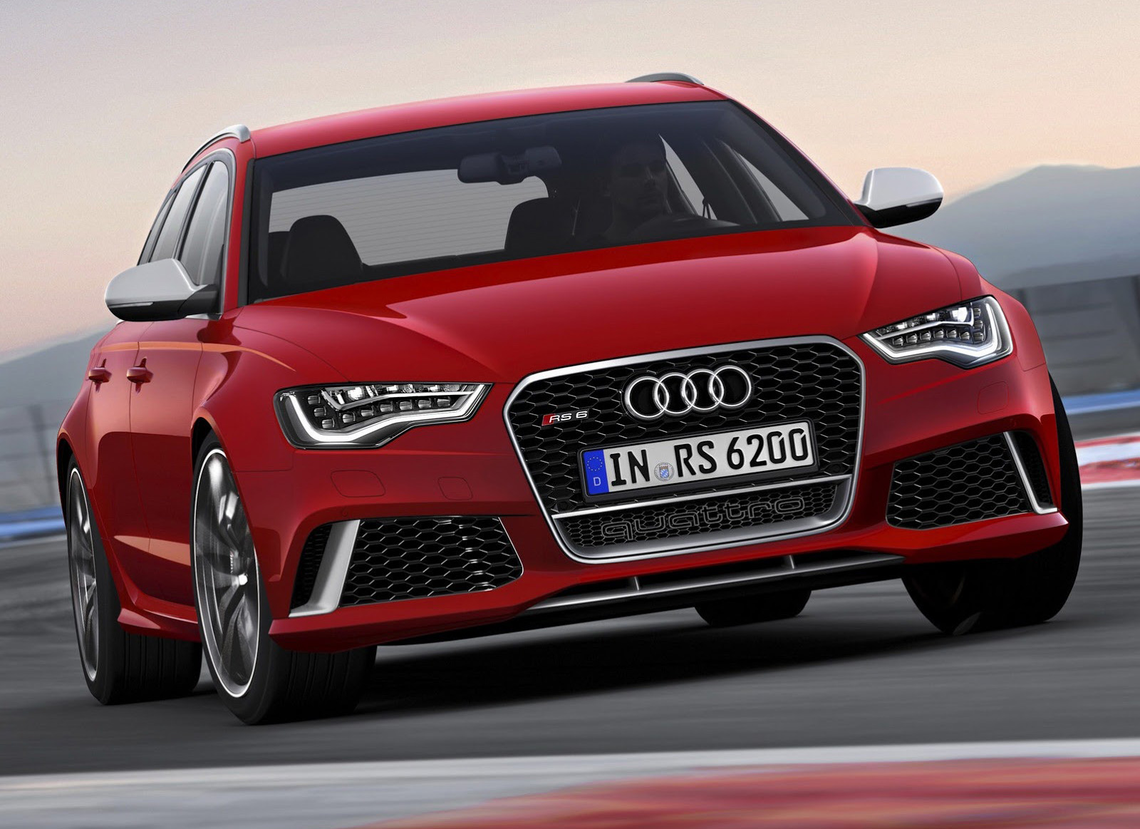 2014 Audi RS 6 Avant Revealed In New Leaked Images