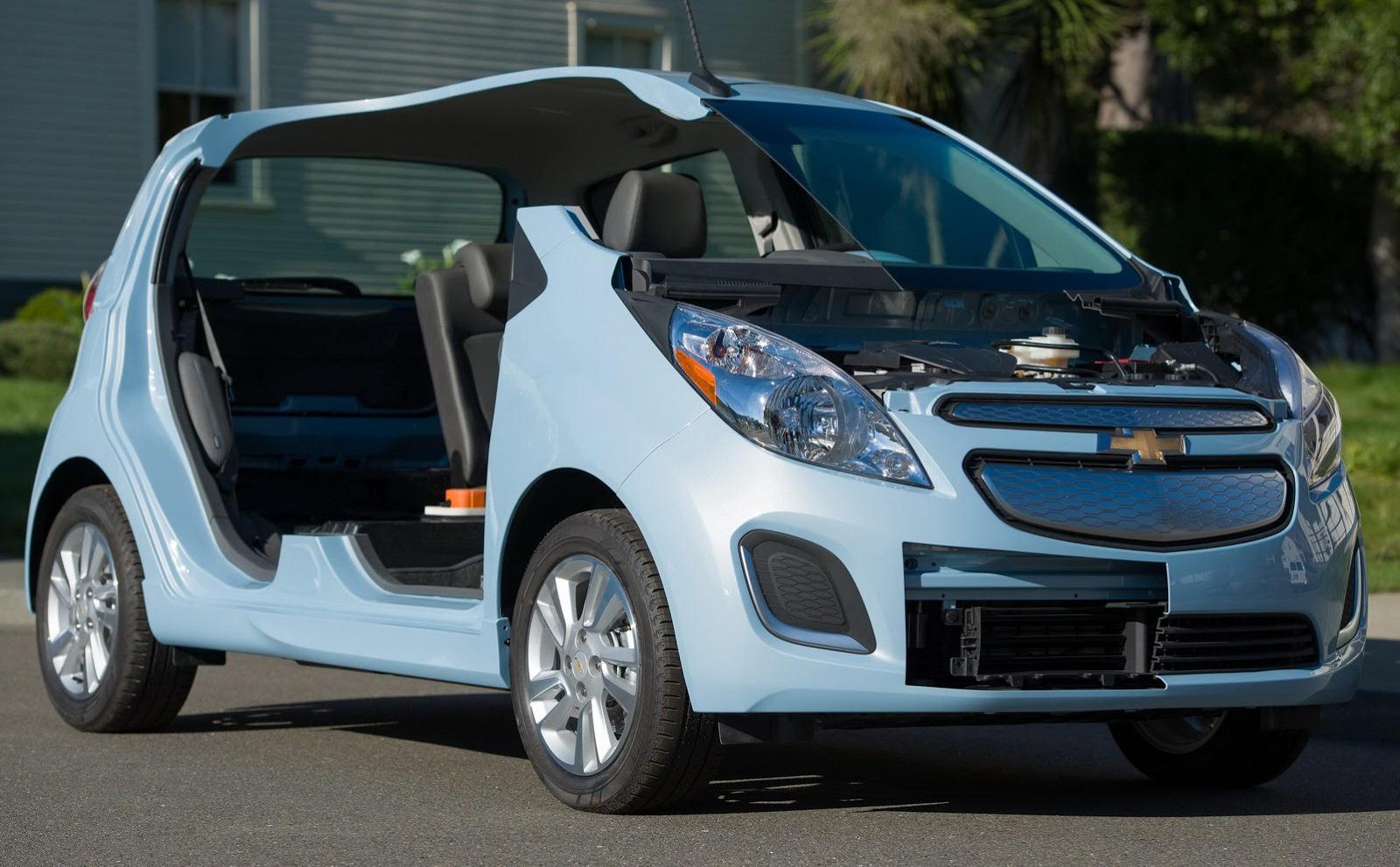 Chevrolet Spark EV Revealed
