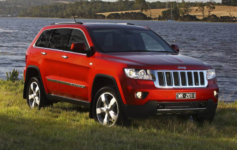2013 Jeep Grand Cherokee Overland Gets 3.6 V6 For Australia