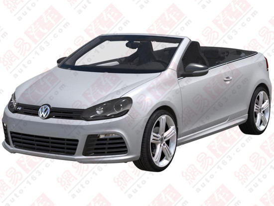 Volkswagen Golf R Cabriolet - Patent Application
