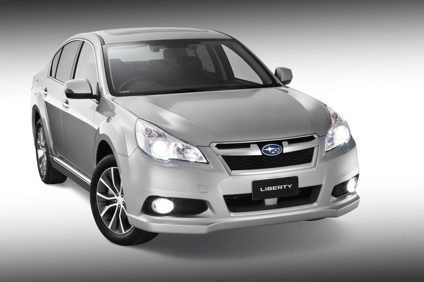 Subaru Australia Expands X Project With New High-riding Liberty Sedan