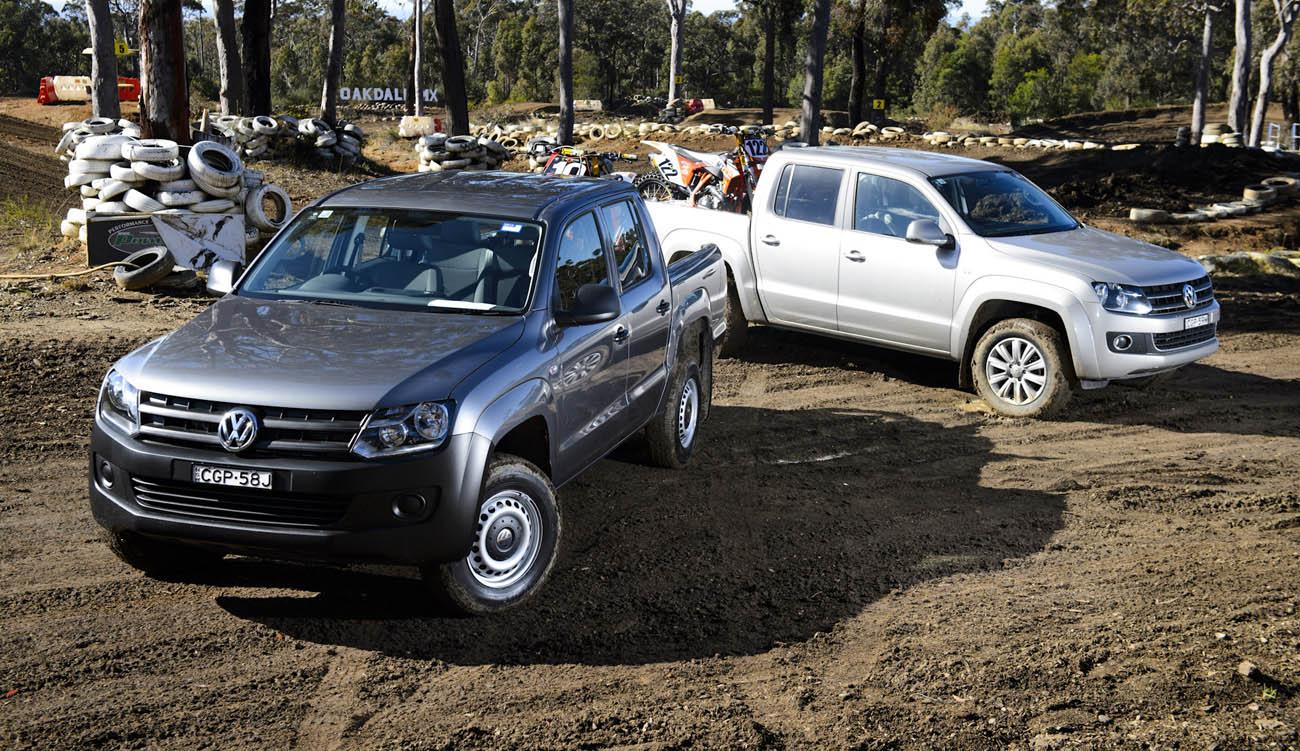 2012 Volkswagen Amarok Motocross Track Test